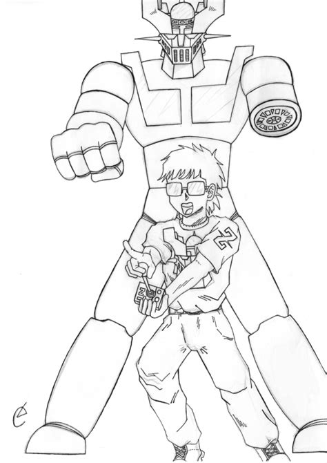 imagenes de mazinger z para dibujar faciles nerd mazinger z by kapasuso on deviantart