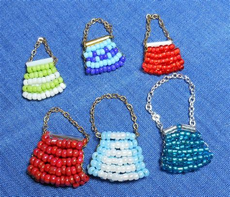 easy beaded purse sas mini dolls