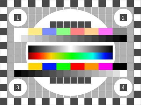 pattern tester free vector graphic tv test pattern test picture free