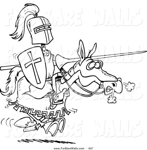 coloring pages knights jousting printable illustration of a coloring page of a jousting
