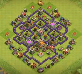 12 best coc town hall th7 hybrid bases 2017 3 air defenses