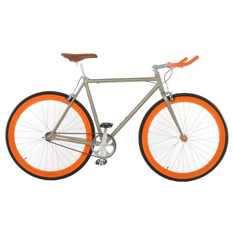 bicycle gear vilano edge fixed gear bike single speed bike cali