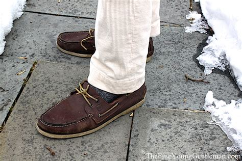 boat shoes with socks obsession ski socks the fine young gentleman
