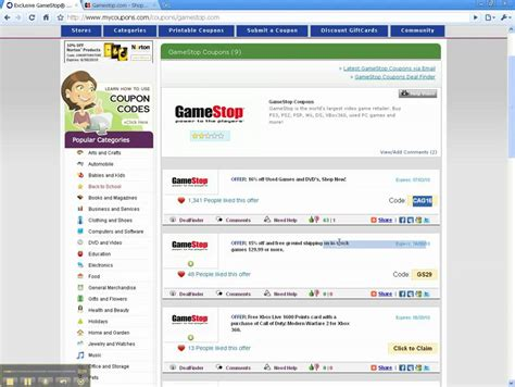 Gamestop Gift Card Promotional Codes - gamestop coupons promo codes deals page 1 slickdeals autos post