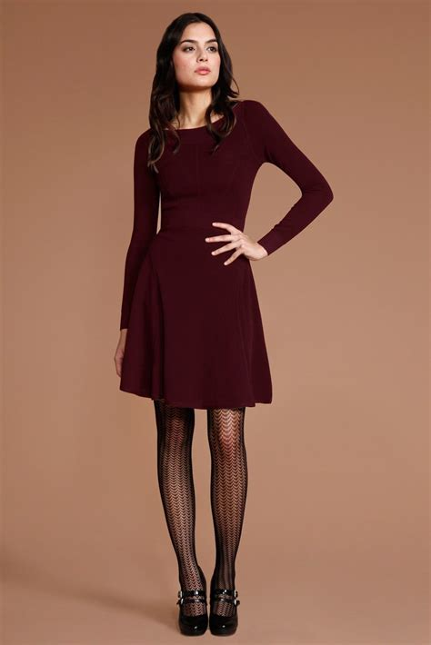 Maroon Patterned Tights | shop these tights at www fashion tights net tights