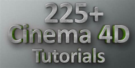 3d modelling cinema 4d tutorials by envato tuts 225 cinema 4d tutorials for beginners and professionals