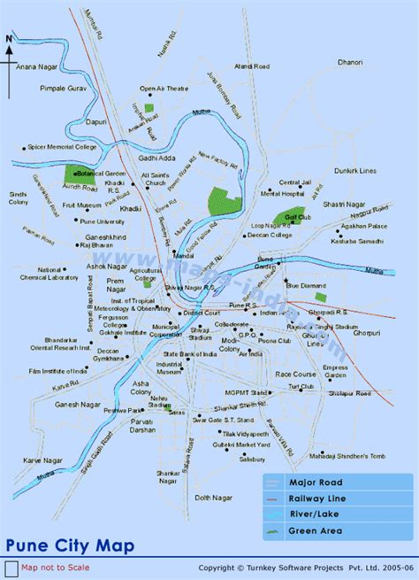 pune in map of india pune city map city map of pune