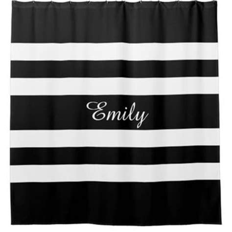 bold black and white striped curtains shop black and white striped shower curtain on wanelo