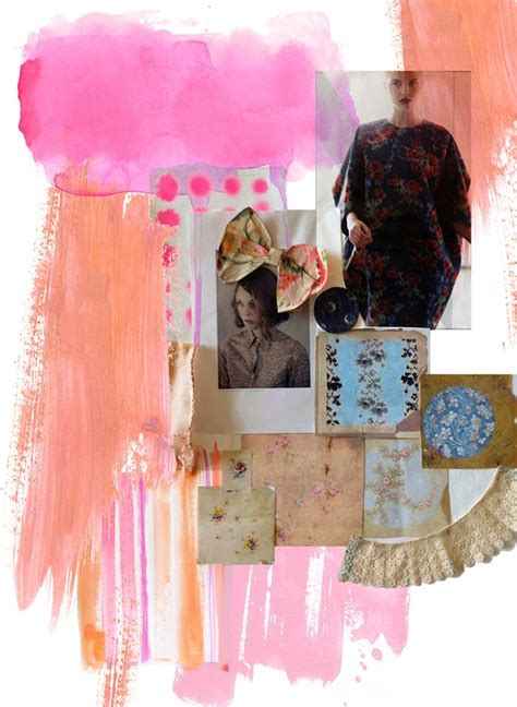 design fashion board fashion moodboards a collection of ideas to try about