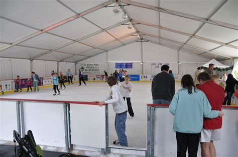 winter garden skating rink winter park outdoor skating during the holidays in