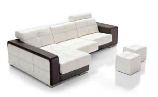 Leather Curved Sectional Sofa Fashionable Curved Sectional Sofa In Leather Scottsdale Arizona Nectar Living Esf Baco