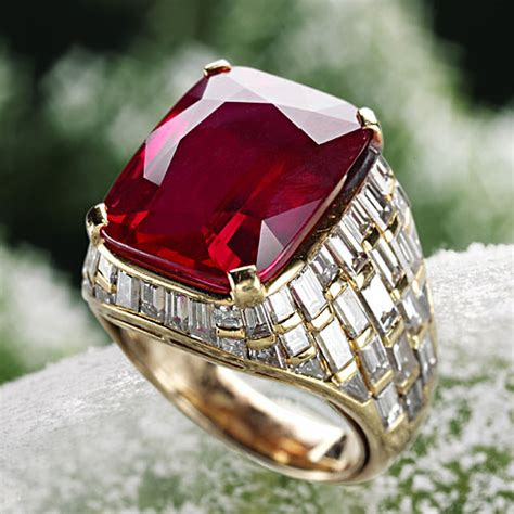Ruby Birma mogok rubies their and history