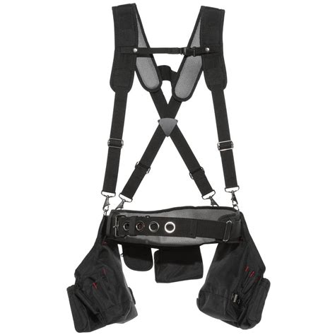 Framers Suspension Rig Tool Storage Work Belt Heavy Duty Site Pock Husky Framer S Suspension Rig Hd00116 The Home Depot