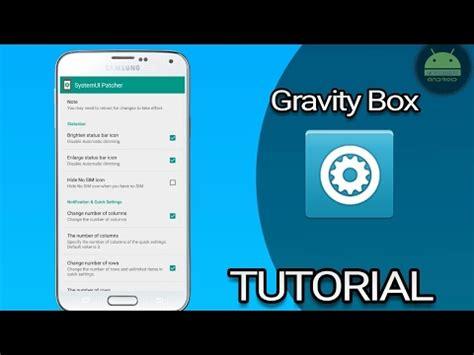 gravity box apk editar tus apk o systemui con gravity box
