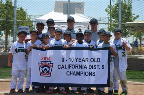 section 10 little league tournament natomas ca north natomas little league all stars ends