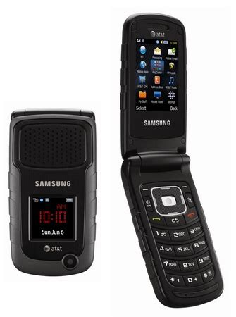 rugged flip phone at t samsung rugby ii sgh a847 rugged mil spec flip phone att wireless black condition