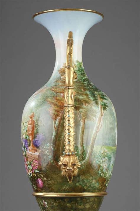 Limoges Porcelain Vase by Large 19th Century Limoges Porcelain Vase At 1stdibs