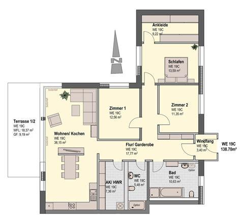 Schlafzimmer Mit Ankleide Grundriss by Exklusiver Neubau 3 Schlafzimmer Mit Ankleide Terrasse