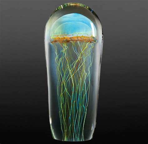 what is lwork glass rick satava the of glass blown jellyfish sculptures