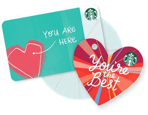 Starbucks Card 2 starbucks card gift ideas made for you starbucks