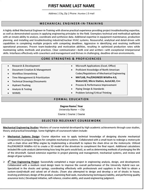 100 resume sles for freshers mechanical engineers free download