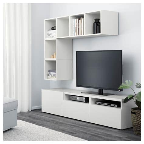 besta eket eket best 197 kastencombinatie voor tv wit 180x40x170 cm ikea