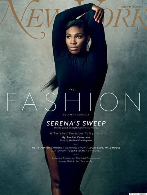 serena williams sublime en une de l 233 dition mode du new