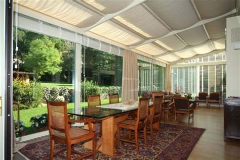 tendaggi per verande verande e gazebo confortevoli