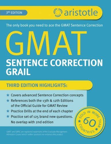 Sentence Correction Mba Cet by Books