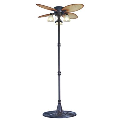 Free Standing Outdoor Ceiling Fans by Outdoor Palm Leaf Stand Fan Sam S Club