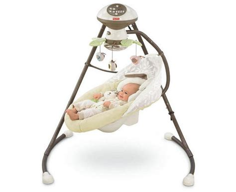 battery baby swing 12 best baby swings reviewed portable and full size