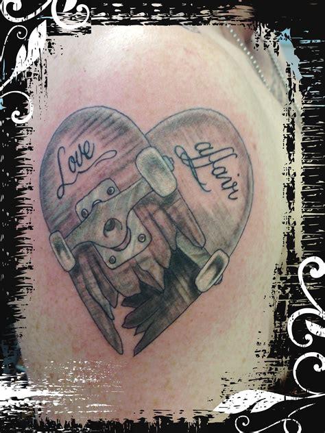 skater tattoos skateboard tattoos skateboard