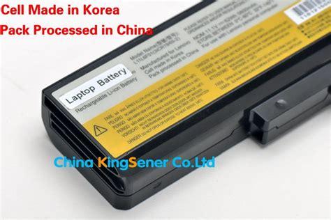 Baterai Original Laptop Lenovo G480 B480 B490 B580 Y480 G510 korea cell original new laptop battery for lenovo ideapad
