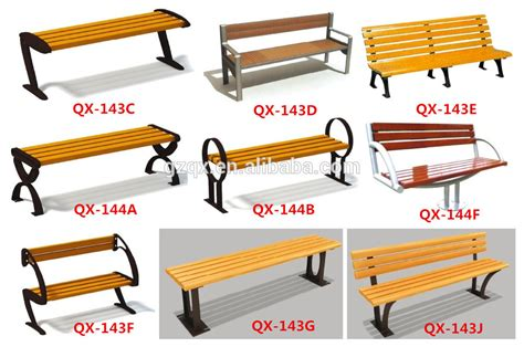 park bench parts european style commercial outdoor furniture bench garden