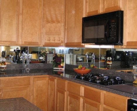 mirror backsplash in kitchen diamond glass and mirror dgmglass com birmingham alabama