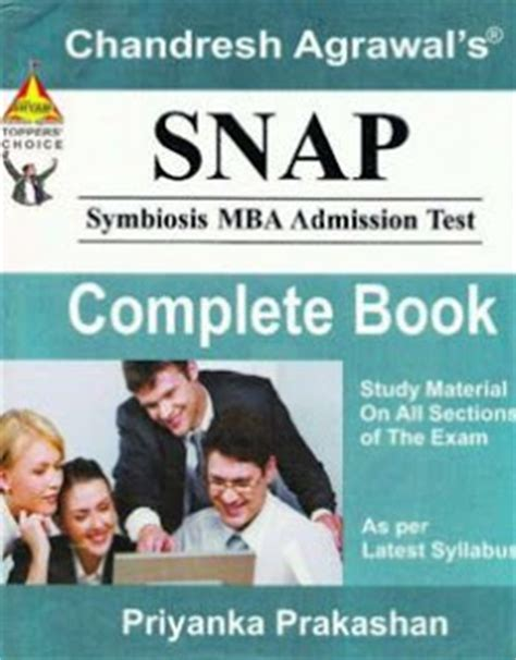 Mba Admission Test Preparation Guide Pdf by Best Books For Snap 2016 17