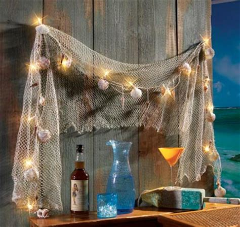 Fish Net Decoration Ideas idearibbon