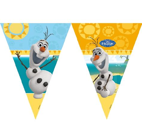 Bunting Flags Tema Frozen camel disney frozen olaf bunting