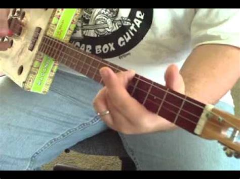 how to play tattooed heart on guitar how to play cigar box guitar shane speal demonstrates