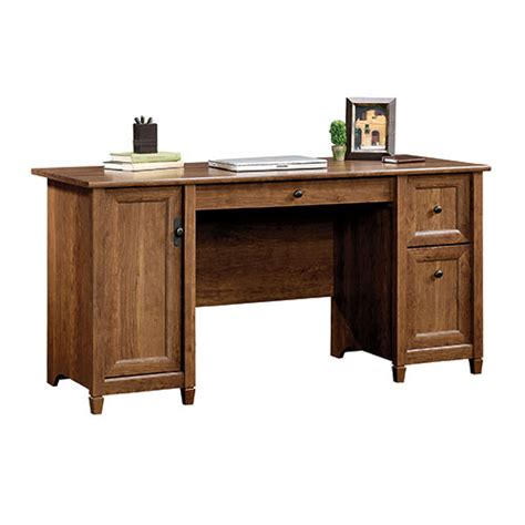 Sauder Edge Water Desk by Sauder Edge Water Computer Desk Auburn Cherry Boscov S