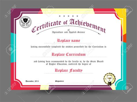 design a certificate in word home design diploma certificate template design vector