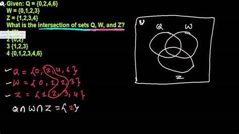 how to find the intersection in a venn diagram intersection of three sets in venn diagram set theory