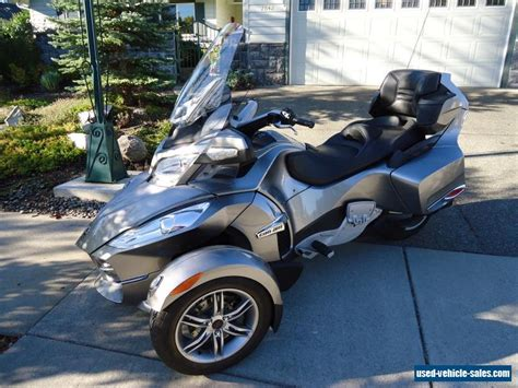 can am spyder for sale 2012 can am spyder rt s for sale in canada