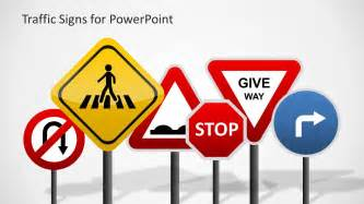 traffic sign template traffic signs template for powerpoint slidemodel