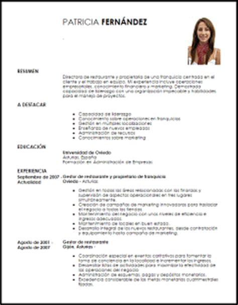 Modelo Curriculum Vitae Dependienta Tienda Modelo Curriculum Vitae Propietario De Franquicia Livecareer