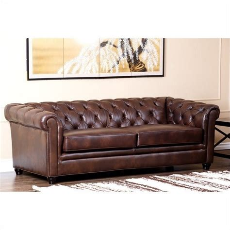 country sofa set abbyson living foyer leather sofa set brown country 2