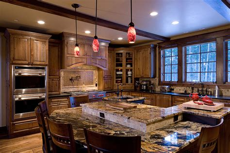 Latest Kitchen Interior Designs Mountain Gourmet Kitchen Traditional Kitchen Other