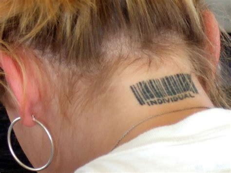 tattoo on the neck hurt neck tattoos art platter