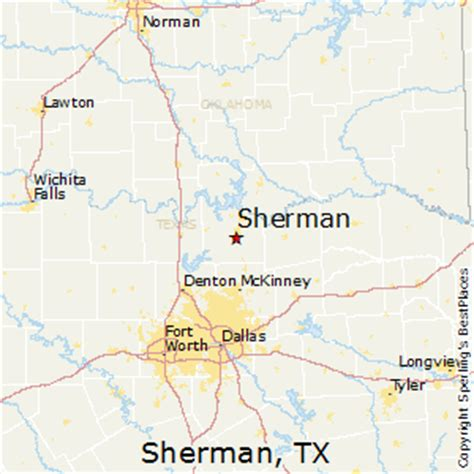 where is sherman texas on the map best places to live in sherman texas