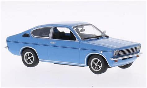 1973 opel kadett opel kadett c coupe blue 1973 minichs diecast model car